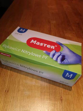 Rękawice nitrylowe rozmiar M