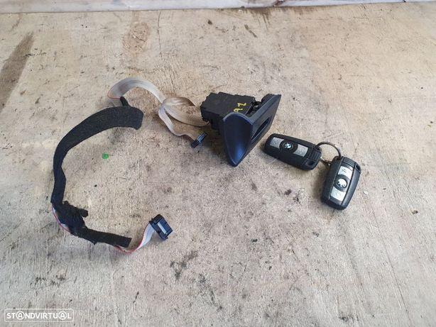 BMW E91 / PACK M - 2005 / 2013 - Canhão de Ignição / Leitor da chave (+2 Chaves) - 6954720-09