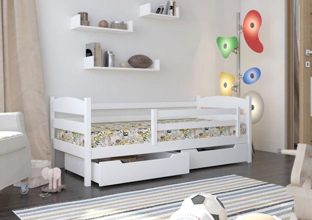 Łóżko sosnowe dla dziecka. Różne rozmiary, różne kolory. Wysyłka 7dni