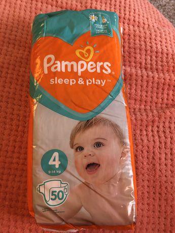 Підгузники Pampers sleep&play 4
