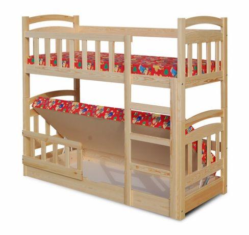 Drewniane łóżko MACIEJ z pojemnikiem na pościel !
