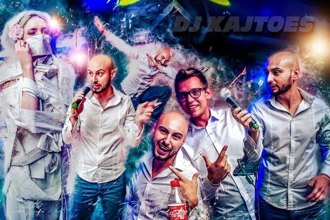 DJ KajtoES wesele 18-nasti urodziny studniówki bankiety
