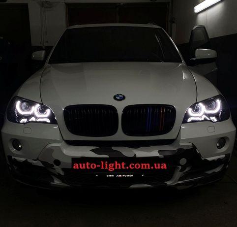 Светодиодные ангельские глазки Crystal Led BMW F30 F31 F35 F25 E92 E70