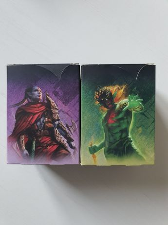 Magic the gathering Commander decki w protektotach