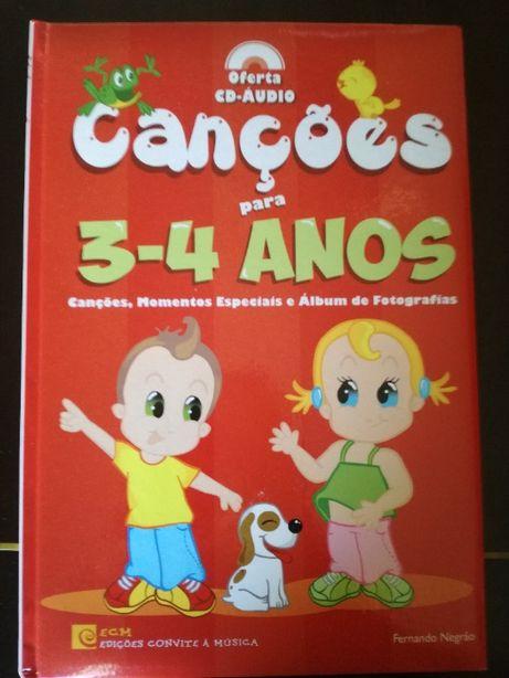 Livro criança 3-4 anos