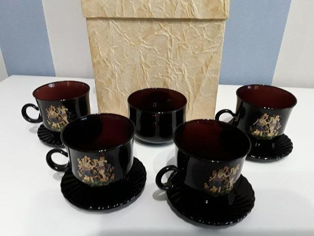 Чайный (кофейный) сервиз, чашки. Отличный подарок.