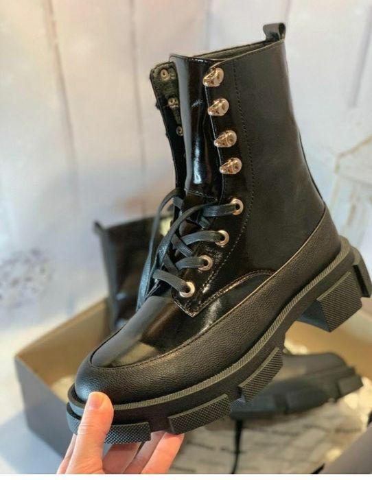 Зимние новые стильные ботинки Решетиловка - изображение 1
