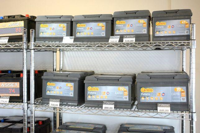 Akumulatory Centra 47Ah - 100Ah DOWÓZ GRATIS !