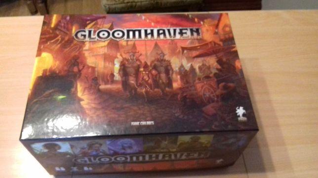 Gloomhaven edycja angielska z dodatkiem + insert WarBox