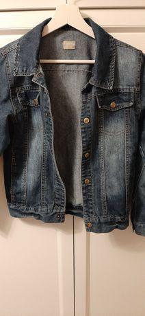 Kurtka jeansowa katana roz 140 stan idealny