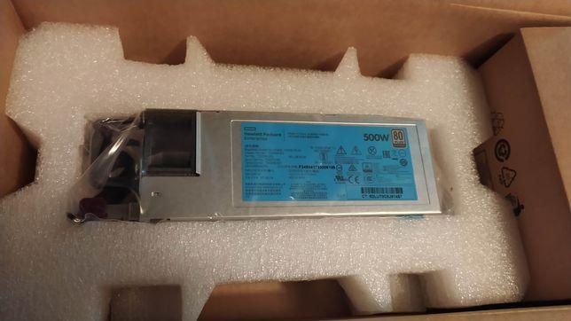 Zasilacz HP 500W FS Plat Ht Plg Per Supply Kit