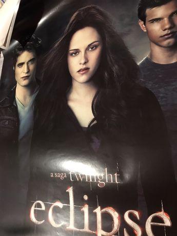 Posters cinema filme Twilight ( lua nova e eclipse)