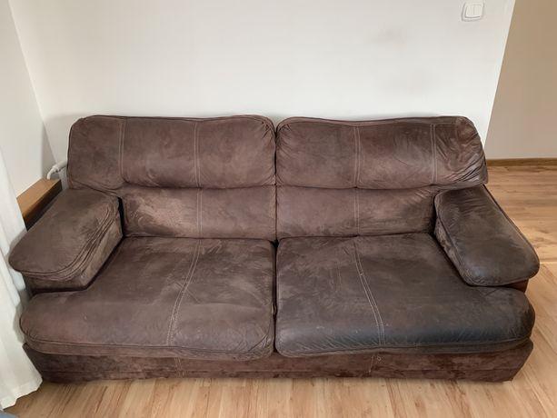 Zestaw wypoczynkowy - kanapa i 2 fotele