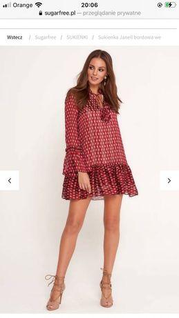 Nowa sukienka z metką firmy sugarfree