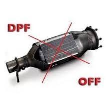 Отключение сажевого фильтра, катализатора, EGR клапана.