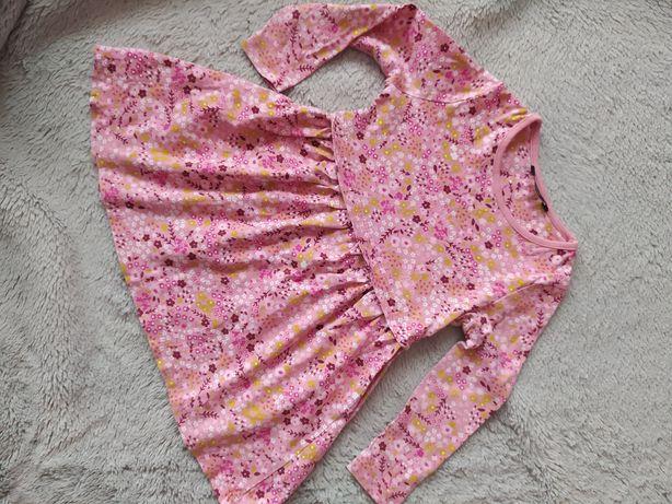 Sukienka George w kwiatki 92-98
