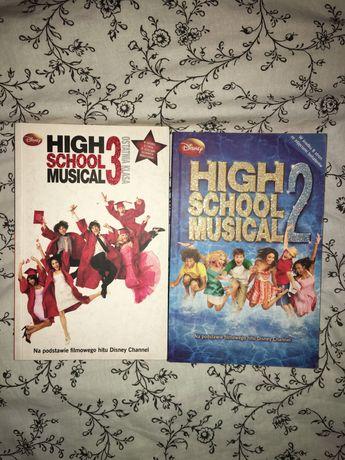 Książki High School Musical 2 i 3