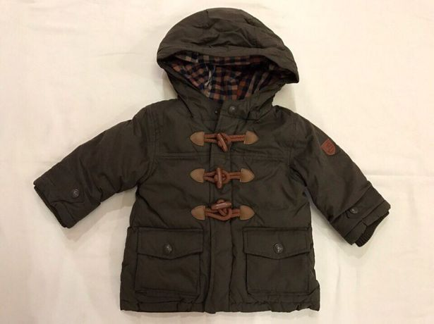 Теплая куртка Jacadi для мальчика 12мес; 18мес