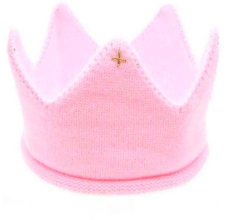 Вязаная корона для малыша, повязка корона, корона для девочки