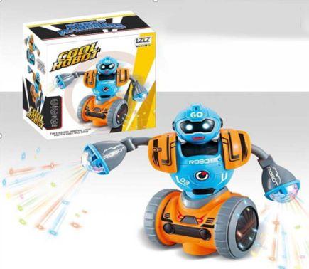 Крутой музыкальный танцевальный робот