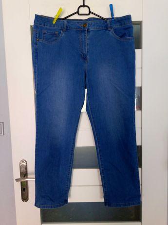 jeansy gumowane 18 46
