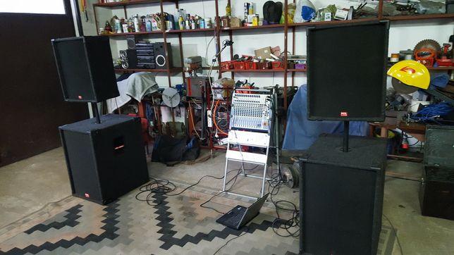 Kolumny estradowe Pol Audio 1200 wat strona