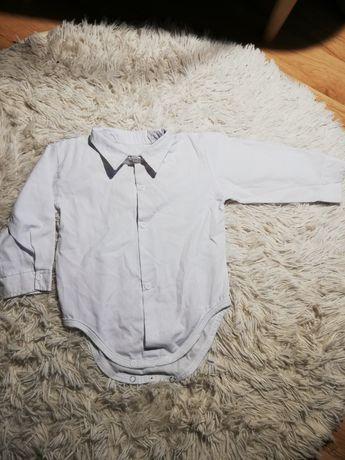Koszulobody koszula dla chłopca body 74 80