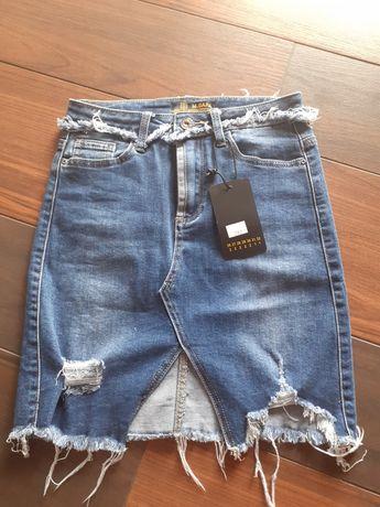 Spódniczka jeansowa r.S