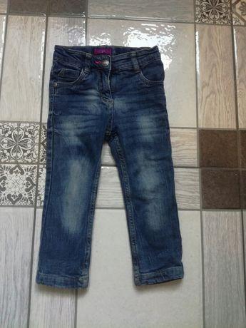 Утеплені джинси для дівчинки