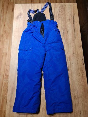 Spodnie narciarskie Reserved rozmiar 116 ciepłe granatowe 5-6 lat