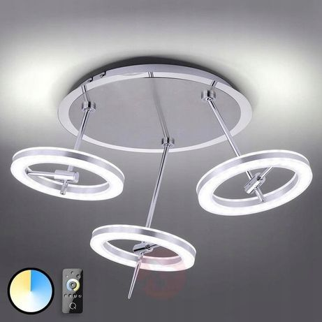 plafon lampa sufitowa LED + Pilot + Barwy/36W