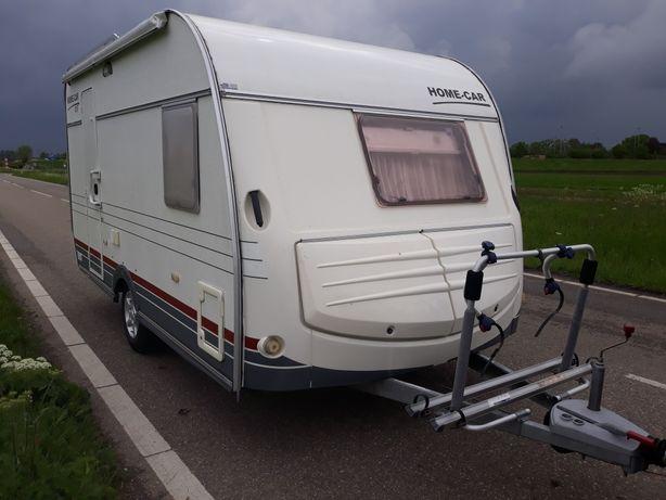 przyczepa kempingowa Home Car 390,4 osobowa,łóżko francuskie,DMC1200kg