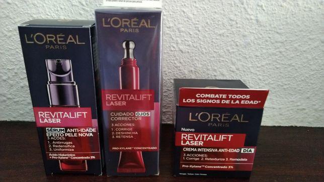 Conjunto L'OREAL revitalift laser