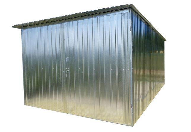 Garaż Schowek Blaszak na budowę Garaż blaszany Budowa Garaże PRODUCENT