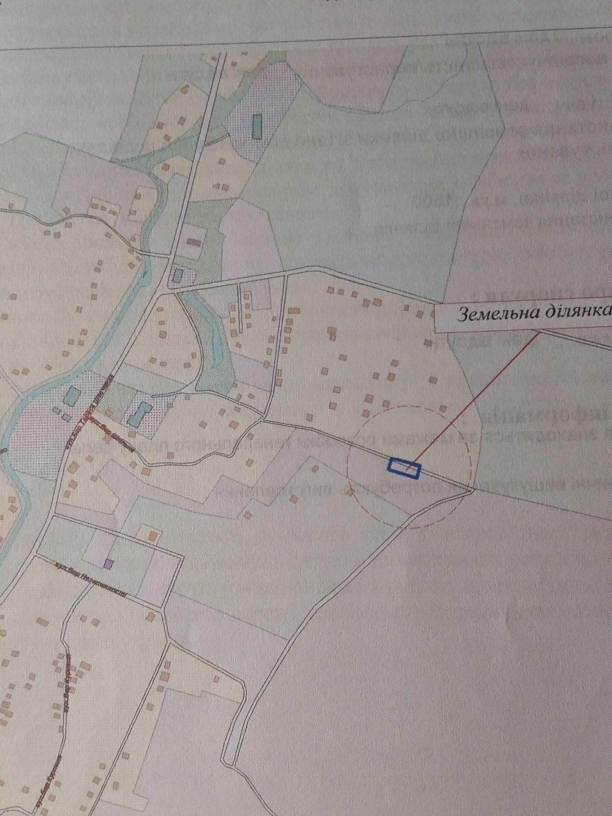 Продається земельна ділянка під забудову у с.Березівка