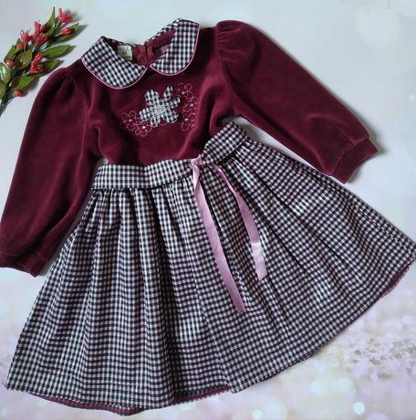 Платье для девочки Рост 92