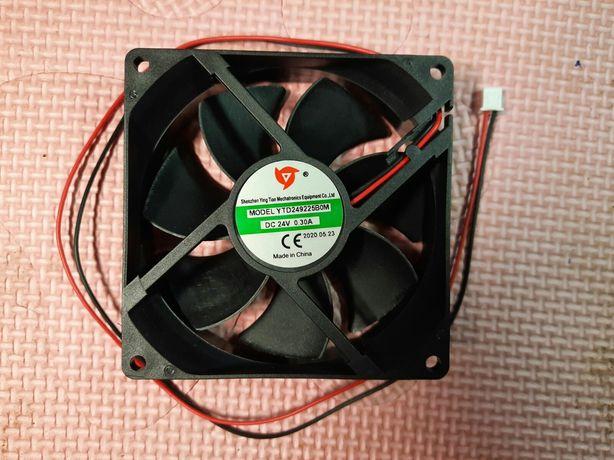 Вентилятор 24В. 0.30А. 92х92х24