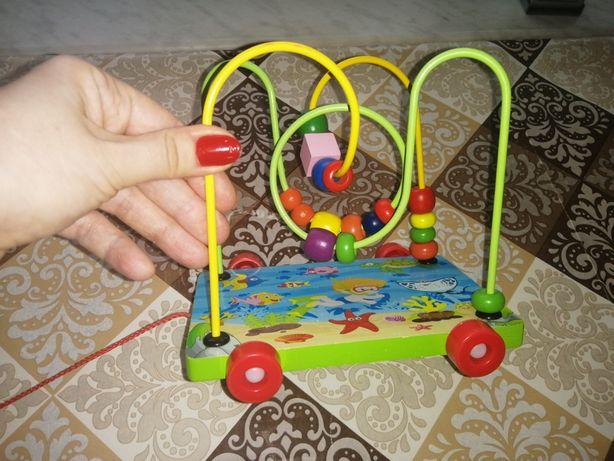 Игрушка детская лабиринт каталка