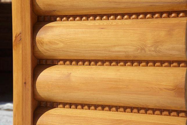 Bale elewacyjne podłoga domki