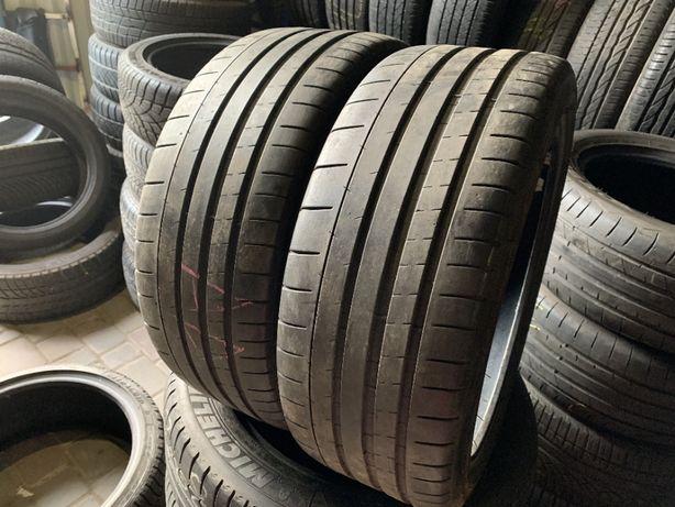 лето 215/40/R18 6.3мм 2016г Michelin Pilot Super Sport 2шт шины шини