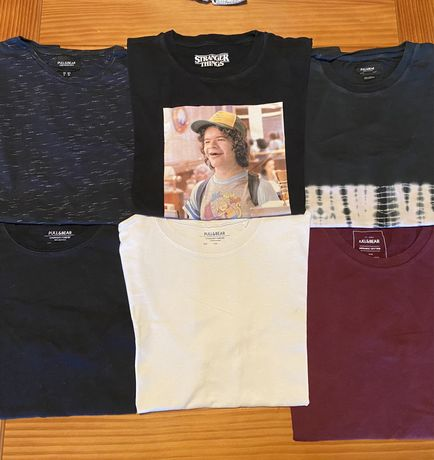 Conjunto 6 T-Shirts Pull and Bear