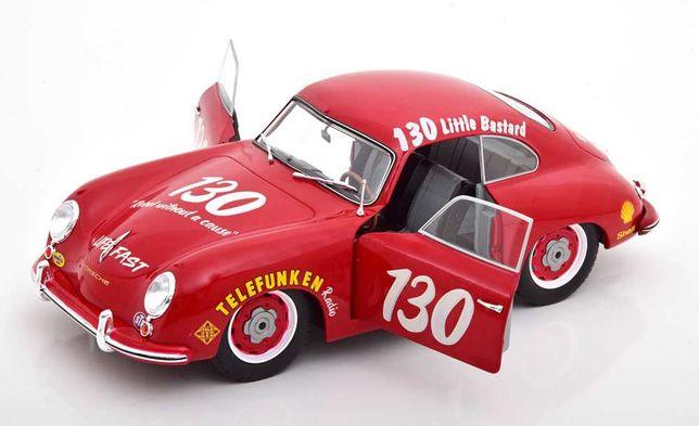 Miniatura -Porsche 356 Pre-A Coupe 1953 #130 James Dean Tribute - red