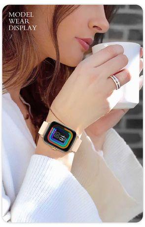 Smartwatch P8Plus Y20  tela Grande HD de 1.69 pol. botão Interativo.