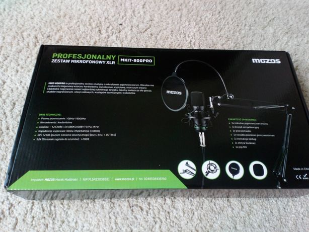 Mikrofon Mozos MKIT-800PRO