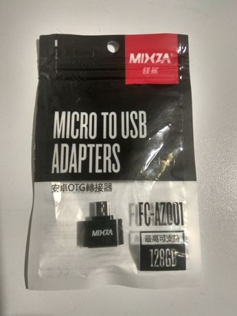 Адаптер OTG Micro USB - USB Mixza FC-AZ001