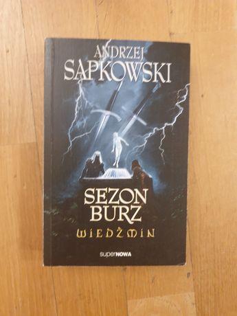 Sezon Burz Wiedźmin, Andrzej Sapkowski