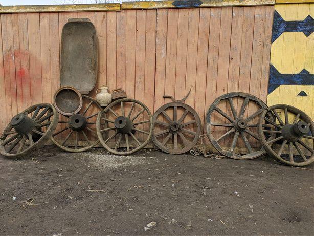 Антиквариат, колеса