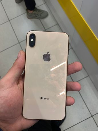 Apple iPhone XS Max 256GB Gold R-sim полный комплект