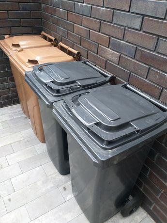 Kosz na śmieci pojemnik na odpady kontener 120 l
