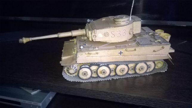 Model kartonowy Tygrys